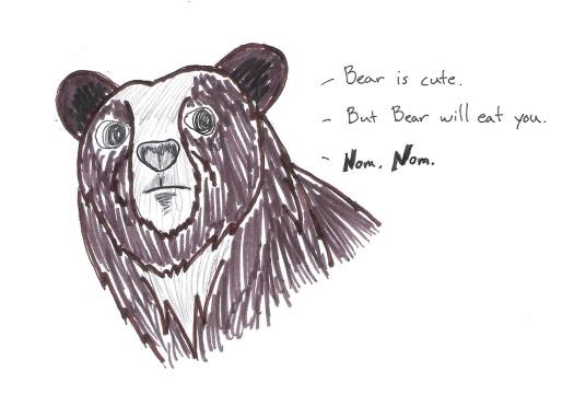 nom nom bear