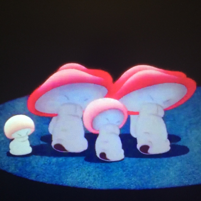 These mushrooms are so adorable...though oddly Asian.