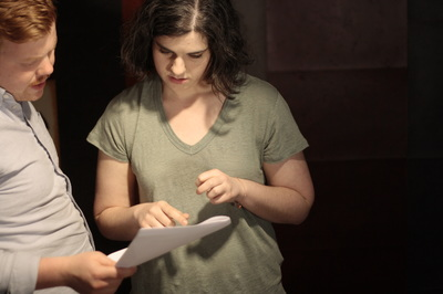 Jessie and partner/director for this play Stefan Hartmann discuss the script.