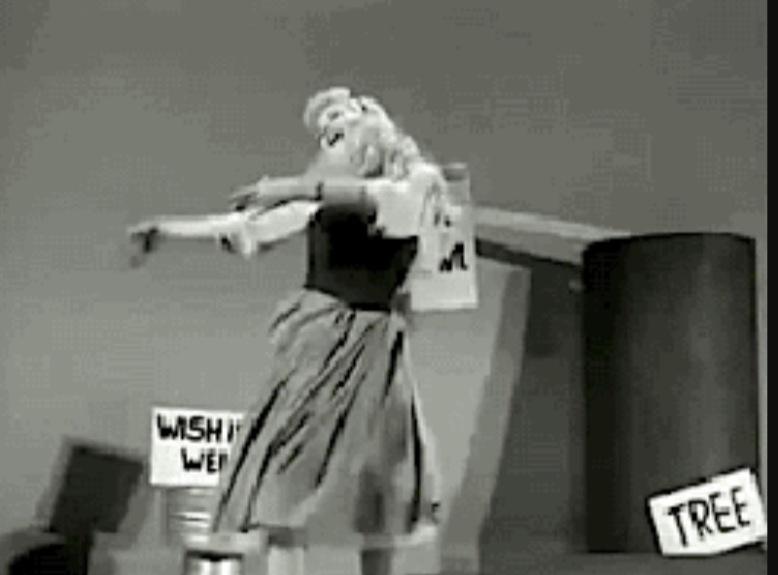 Helene Stanley dances as Cinderella.