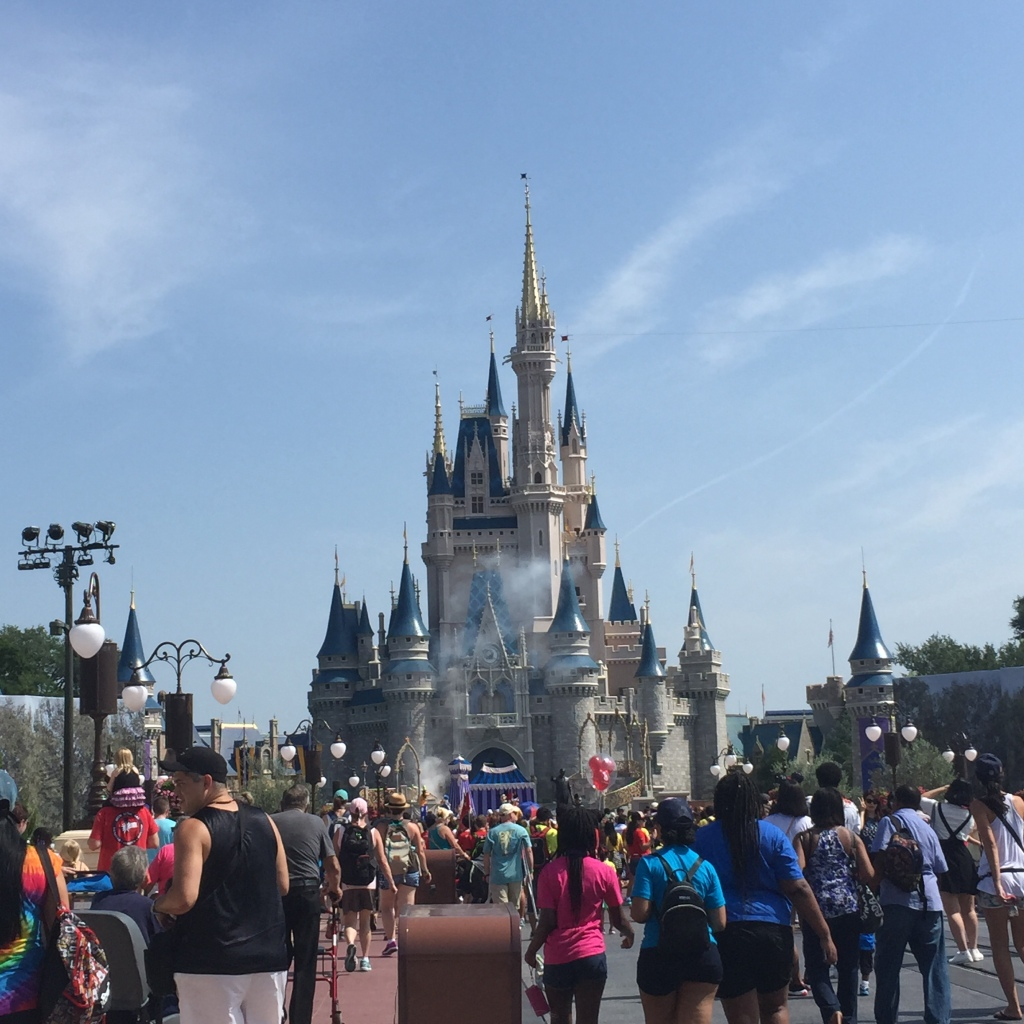 My first view of the castle. Initial thoughts? IT WILL BE MINE!