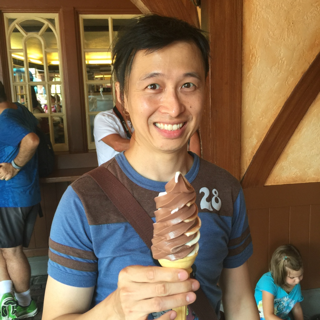 Carl had gone several hours without this ice cream, making his mood less agreeable.
