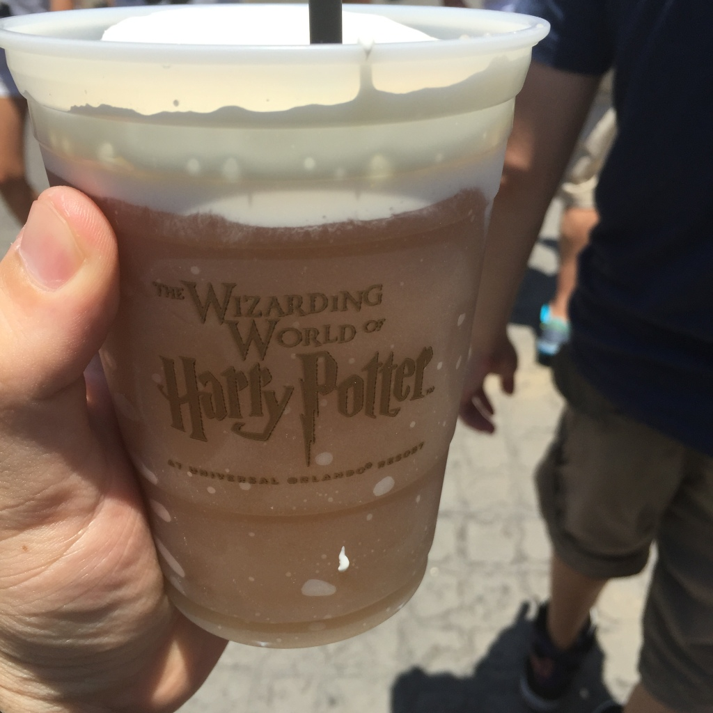 How real Butterbeer is meant to look.