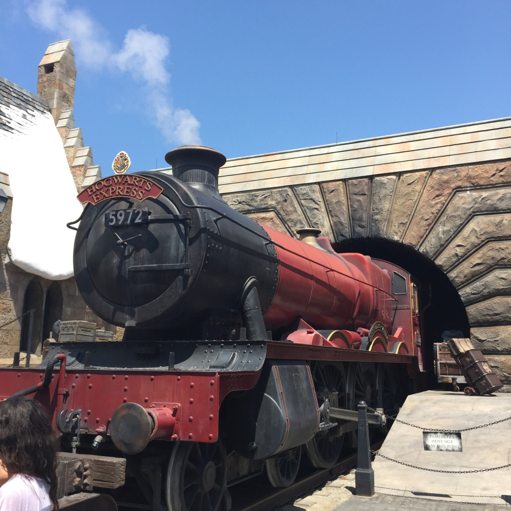 Not the actual Hogwarts Express, but a Hogwarts Express none the less.
