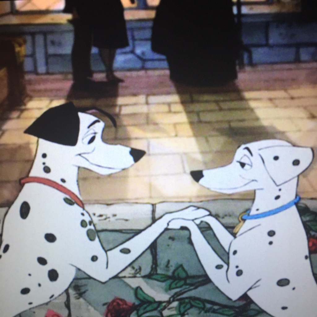This is also the first dog wedding in Disney history.