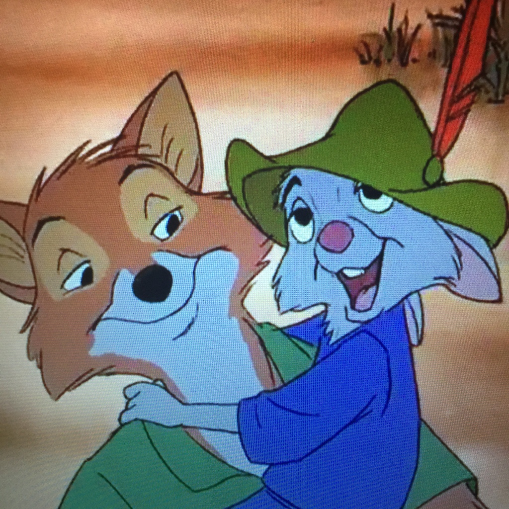 When I grow up, I'm gonna be just like Robin Hood...homeless and convicted of treason!