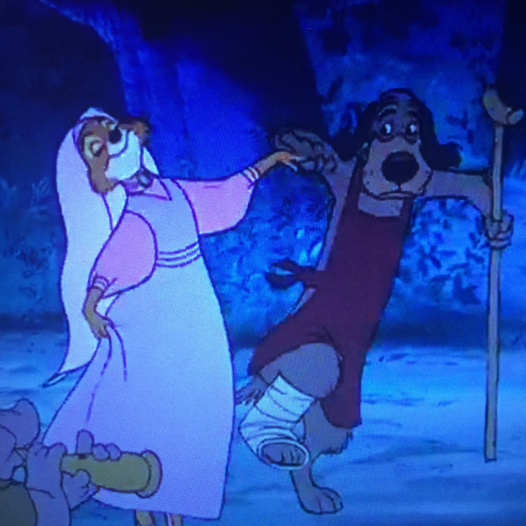 Maid Marian, I think you've got the wrong canine there.