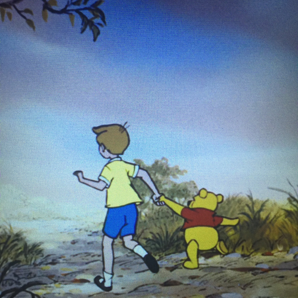 Somewhere out there, Pooh and Christopher are surely on another adventure.