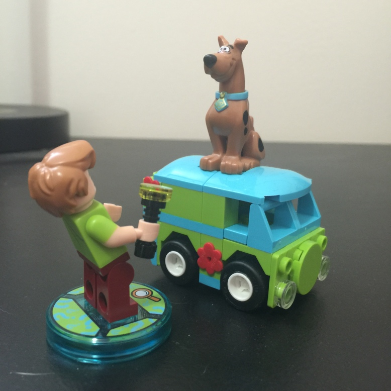 Scooby!  Get down from there!