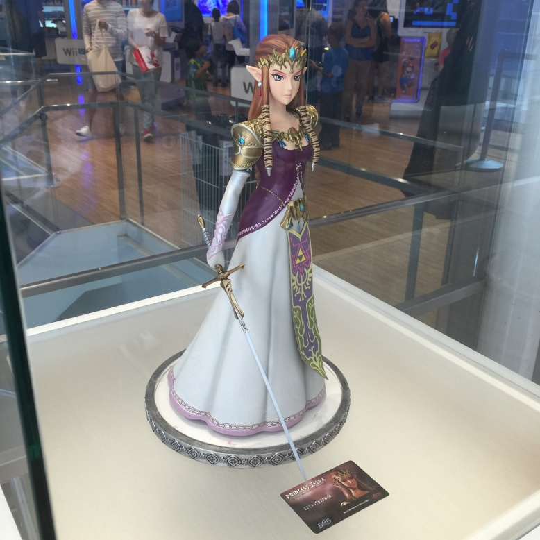 The princess herself.