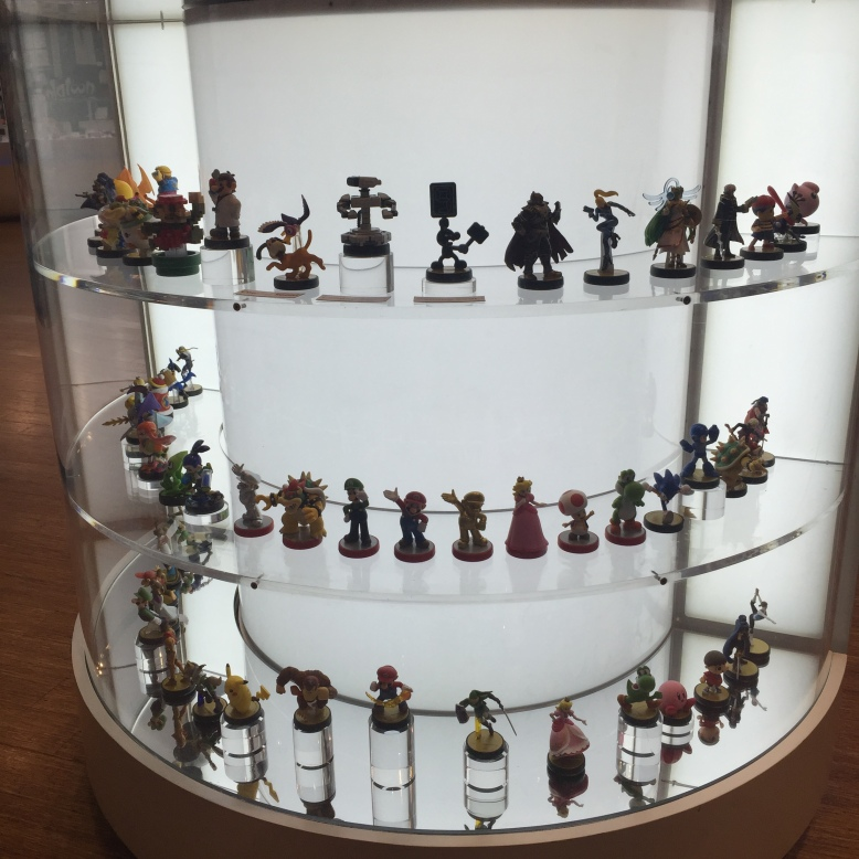 Their Amiibo collection is better than yours.