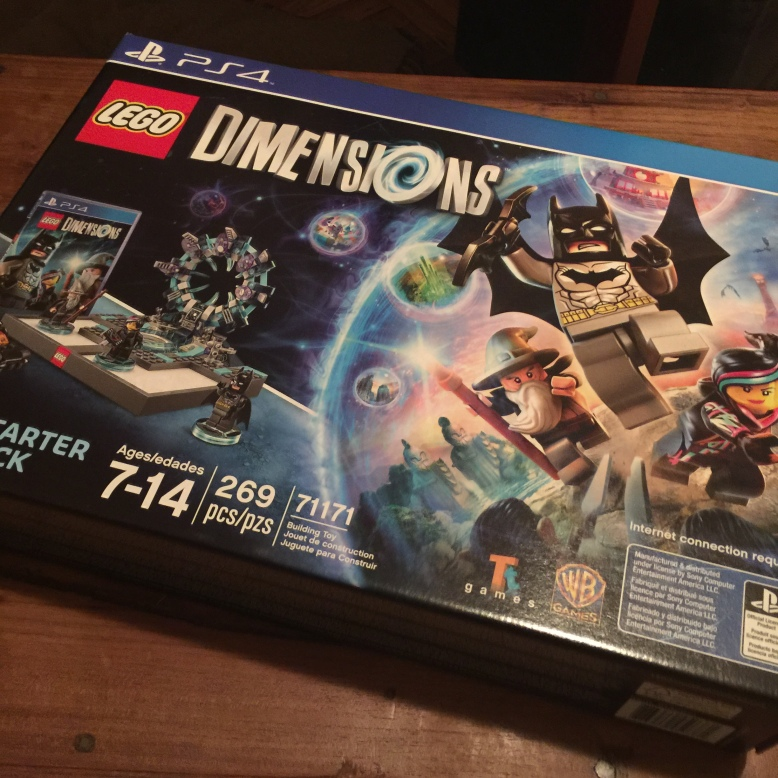The starter bundle for Lego Dimensions in all its glory.