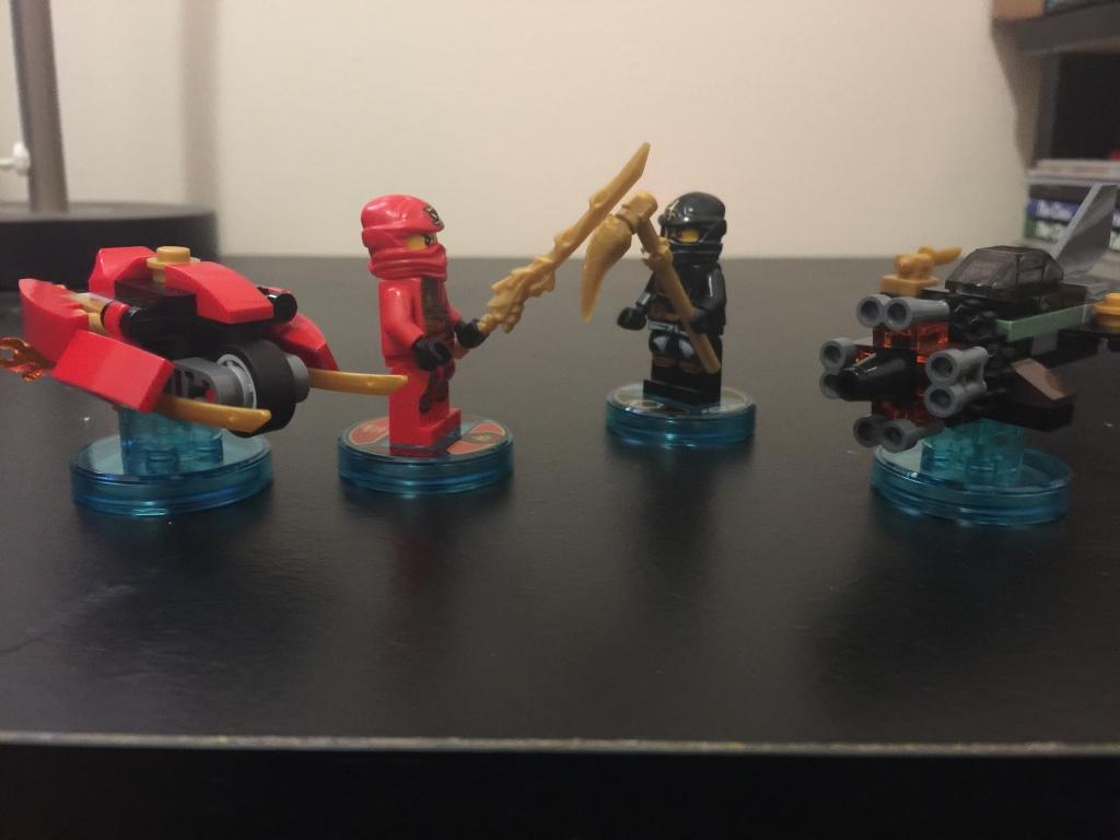 Ninja..GO!  Ninja...GO! Jump up, get down, turn around and spin!!!
