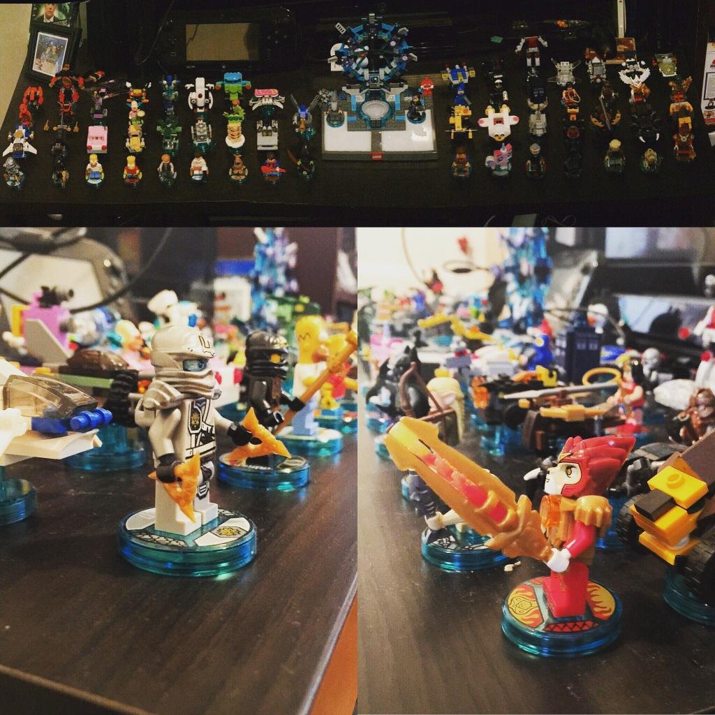 The collection so far.