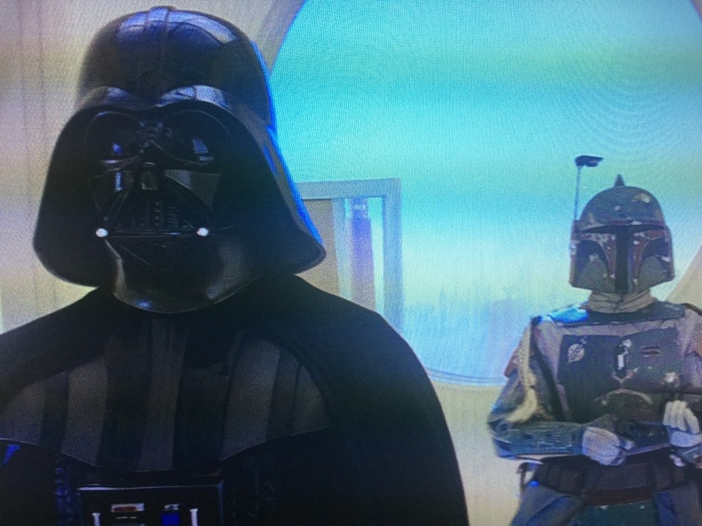Also, one of the favorite characters from the film in Boba Fett, who ironically does little to nothing.
