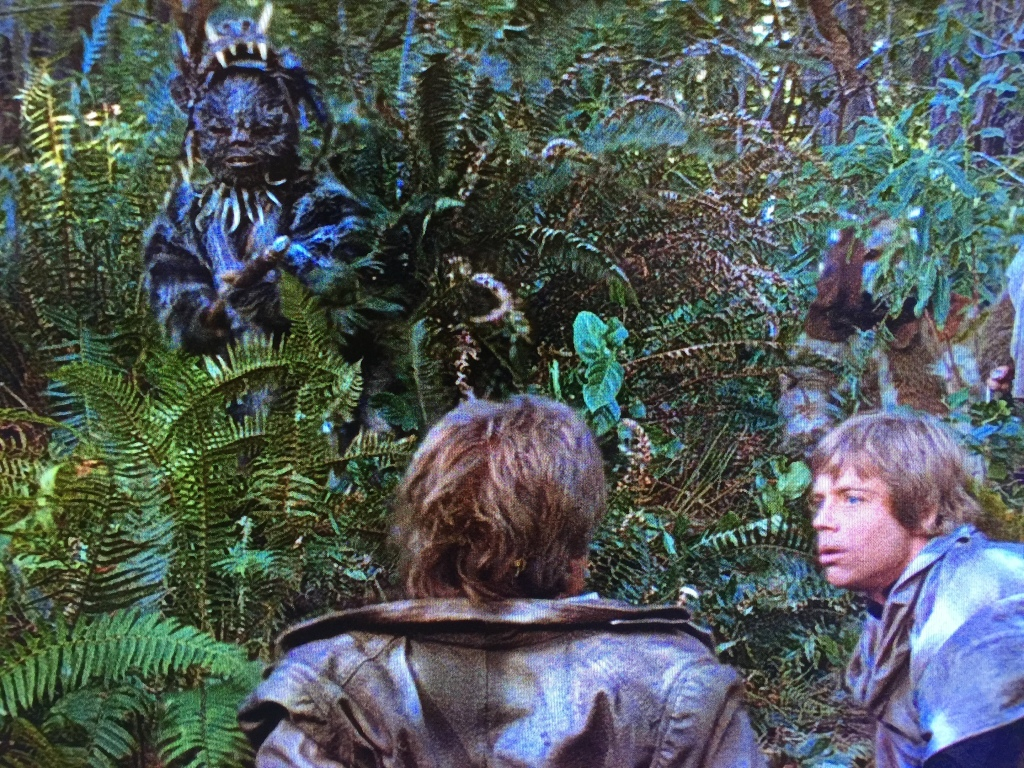 Might Han have been killed by Ewoks???