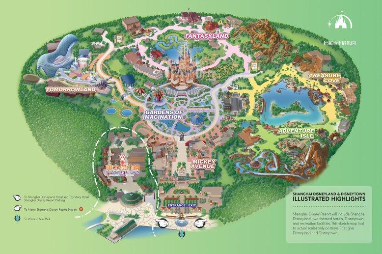 Map-Shanghai-Disneyland-Disneytown