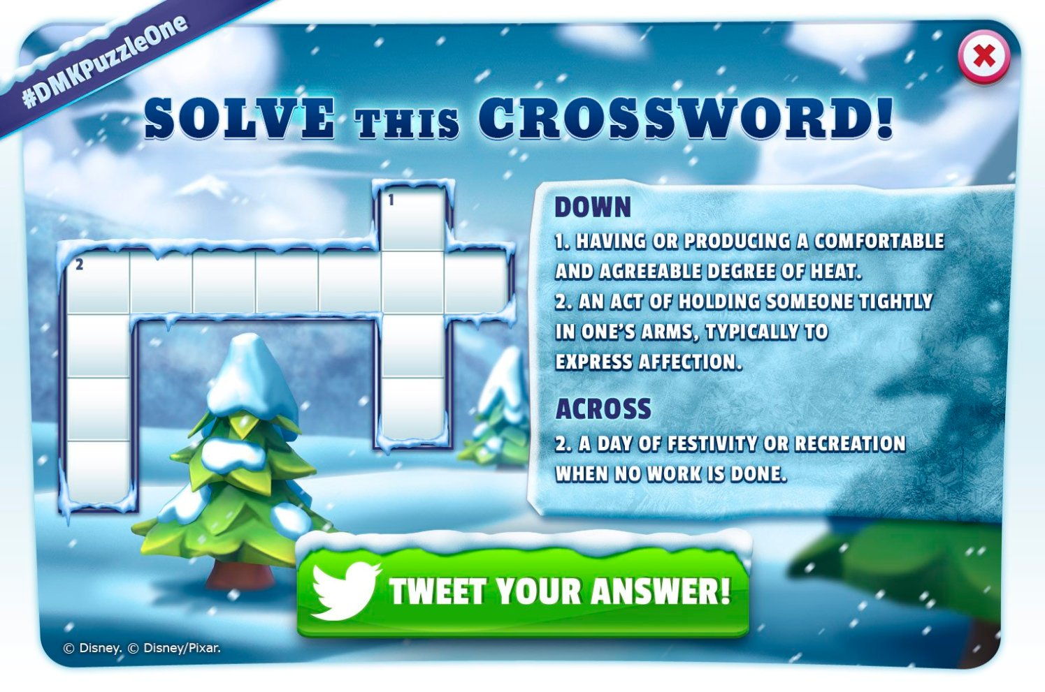 Disney Magic Kingdoms Crossword Clues And What S Next